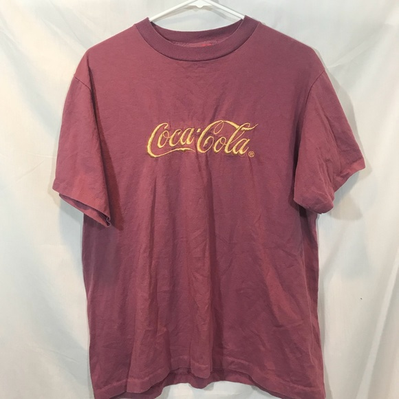 8982d536 Coca-Cola Shirts   Vintage Cocacola Tshirt Size Large   Poshmark